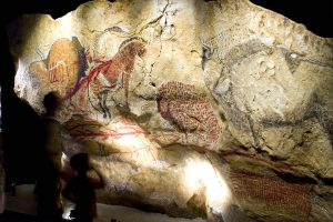 rock paintaing of Niaux's cave